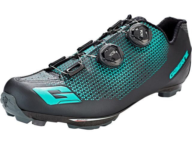 Gaerne Carbon G.Kobra - Chaussures Homme - noir/turquoise